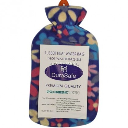 DURASAFE HOT WATER BAG 2L WITH COVER