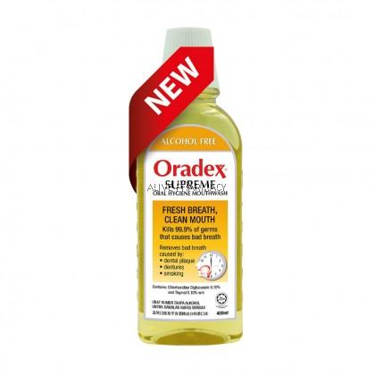 ORADEX SUPREME M/WASH 400ML