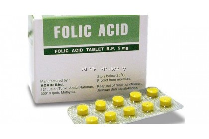 HOVID FOLIC ACID 5MG TABLET